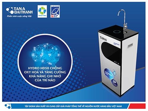 5 lý do Máy lọc nước R.O Tân Á Hydrogen Rich hấp dẫn người tiêu dùng