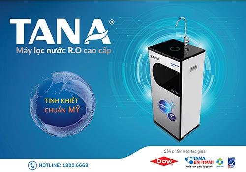 """Tân Á Đại Thành phát triển 3 dòng máy lọc nước R.O """"tinh khiết chuẩn Mỹ"""""""