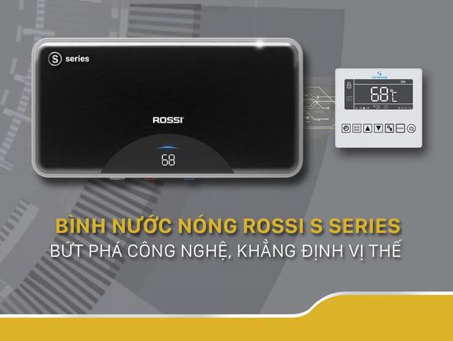 Bình nước nóng Rossi – Vững vàng vị thế top 1 Việt Nam