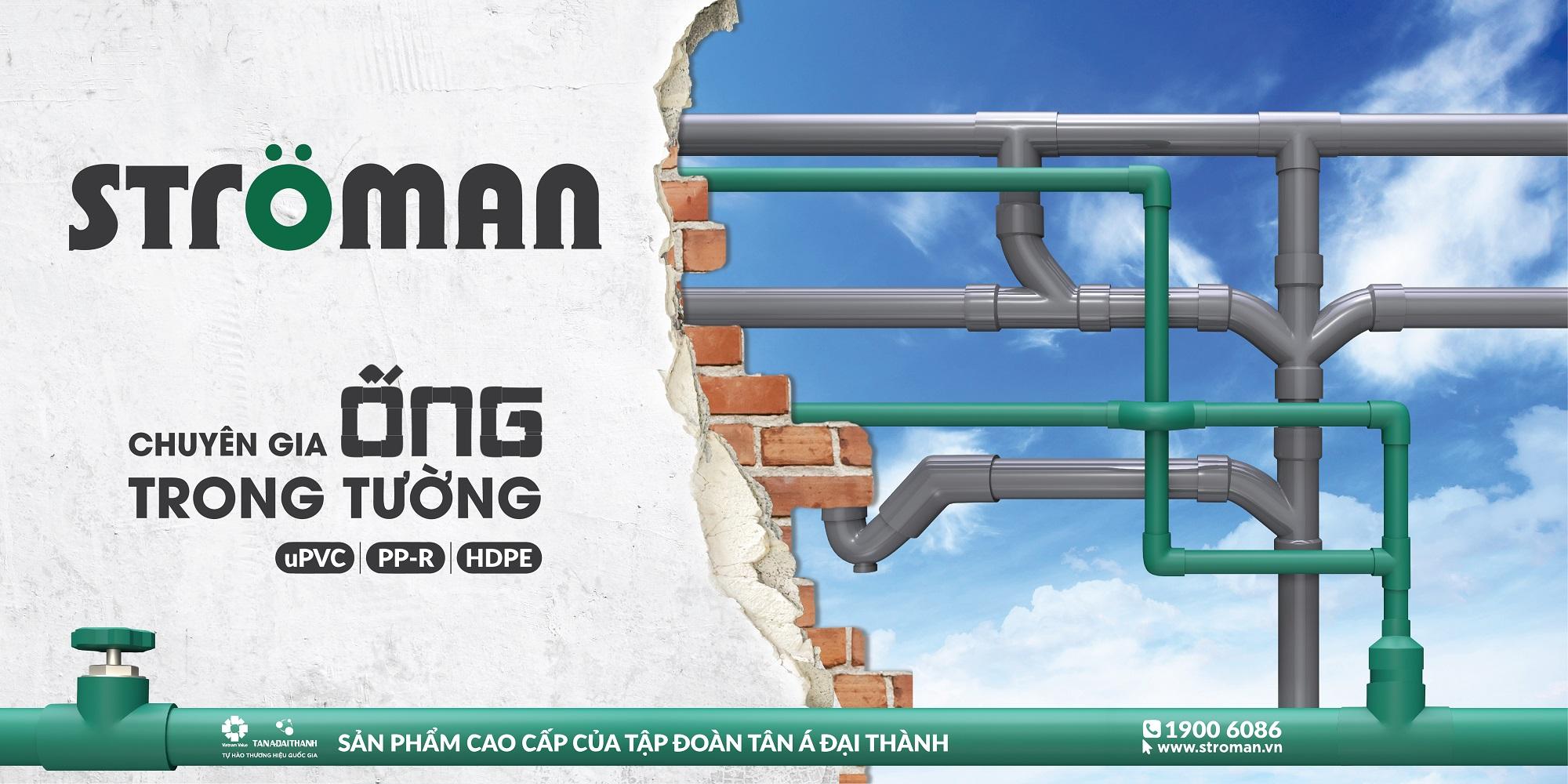 Vì sao khách hàng lựa chọn thương hiệu Ströman cho ống nước trong tường