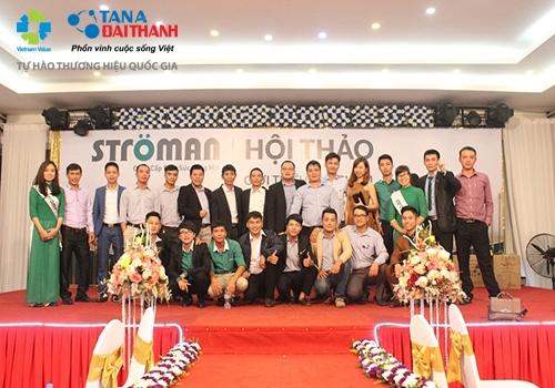 Tưng bừng hội thảo giới thiệu sản phẩm Ống nhựa Stroman – Đức