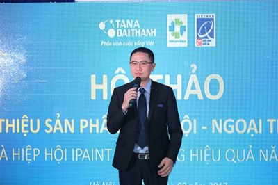 Hội thảo ra mắt sản phẩm sơn iPaint Saphir 2017 thành công rực rỡ