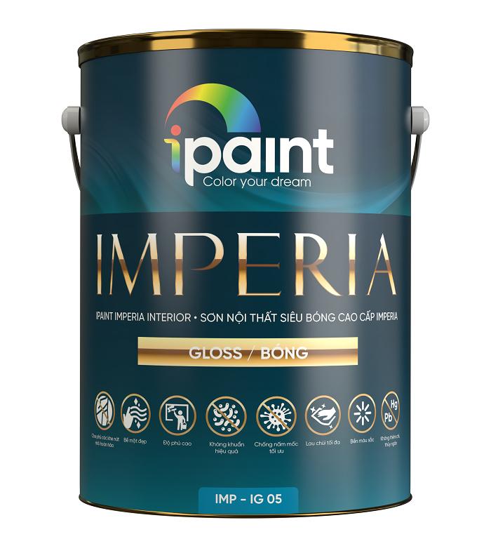 Sơn nội thất siêu bóng cao cấp iPaint Imperia