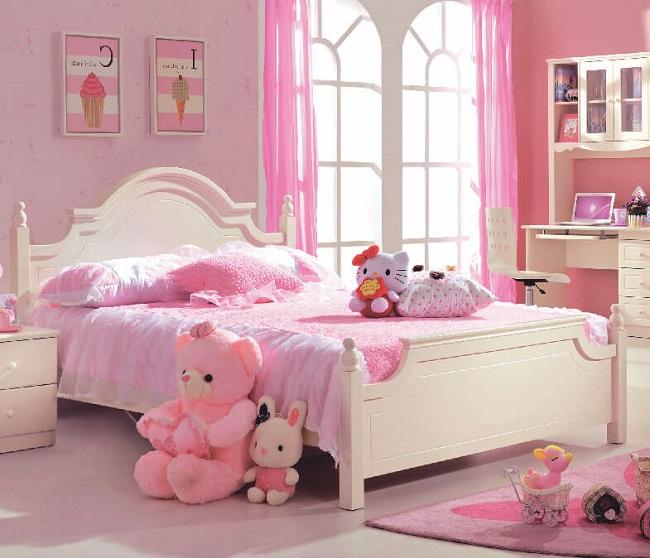 Top các màu sơn tường phòng ngủ cho bé gái đẹp nhất 2021