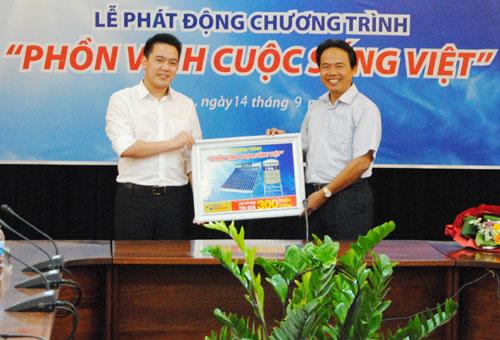 Tân Á phát động chương trình Phồn vinh cuộc sống Việt