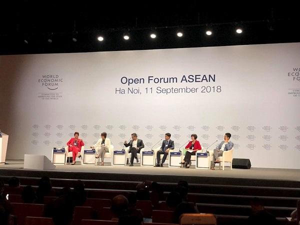 Tập đoàn Tân Á Đại Thành tham dự Hội nghị Diễn đàn Kinh tế thế giới về ASEAN năm 2018 1