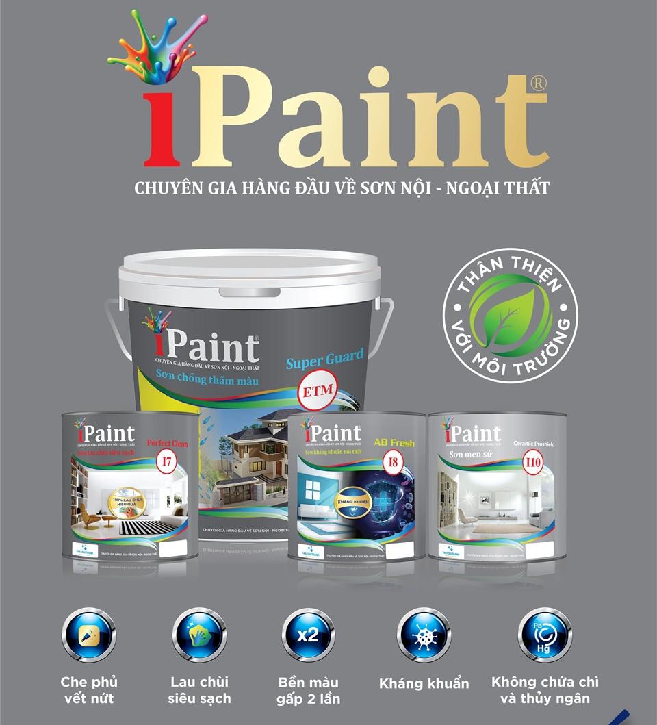 Tân Á Đại Thành ra mắt 4 dòng sơn iPaint mới
