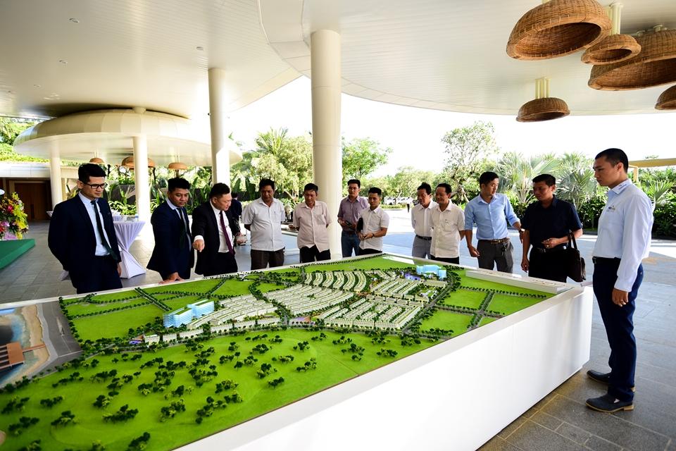 Mô hình dự án Meyhomes Capital Phú Quốc.