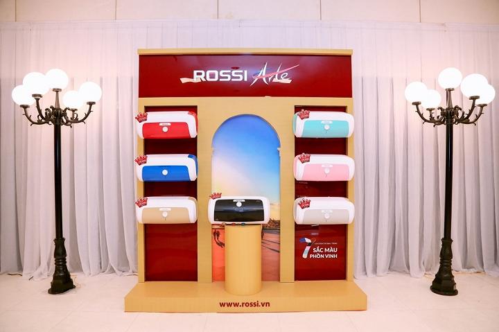 Bình nước nóng Rossi đạt Kỷ lục tiêu thụ mới