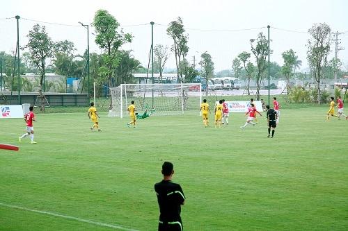 5-0 là kết quả chung cuộc với màn trình diễn ấn tượng của CLB Phố Hiến trước Nam Định 2