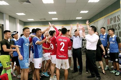Tân Á Đại Thành ra mắt câu lạc bộ bóng đá Phố Hiến 3