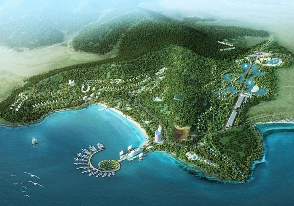 Tân Á Đại Thành đầu tư hơn 4.000 tỷ đồng cho dự án Bãi Lữ 1