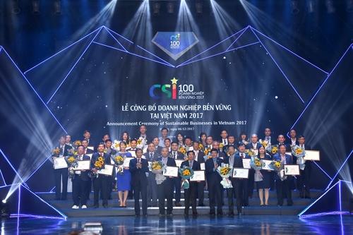 Chương trình là dịp tôn vinh các doanh nghiệp tiên phong có những đóng góp xuất sắc vào sự phát triển bền vững của cộng đồng doanh nghiệp Việt Nam.