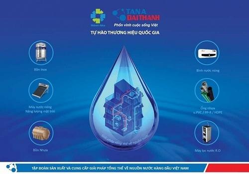 Tập đoàn Tân Á Đại Thành - Đơn vị duy nhất trên thị trường cung cấp Bộ giải pháp tổng thể về nguồn nước