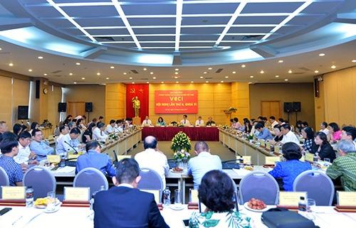 Hội nghị thường kỳ Ban chấp hành VCCI lần thứ 6, khoá VI.