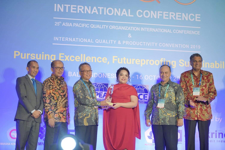Đạt giải thưởng Chất lượng Quốc tế châu Á – TBD, Tân Á Đại Thành vươn tầm Quốc tế