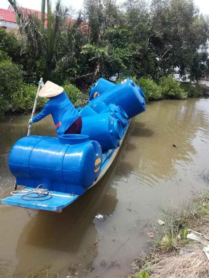 Bồn nước Tân Á Đại Thành là giải pháp trữ nước sạch hữu hiệu, có mặt trên mọi miền quê sông nước, đặc biệt là các tỉnh miền Tây.