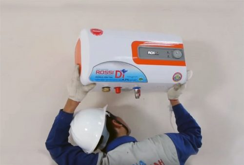 Hãy đảm bảo bình nước nóng của bạn được lắp đặt đúng cách.