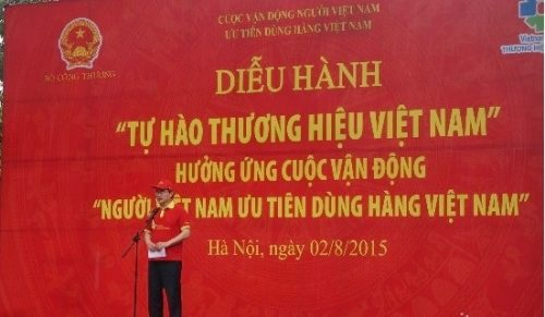 Ông Nguyễn Thiện Nhân – Ủy viên Bộ Chính trị, Chủ tịch UBTWMTTQ Việt Nam phát biểu tại biểu lễ