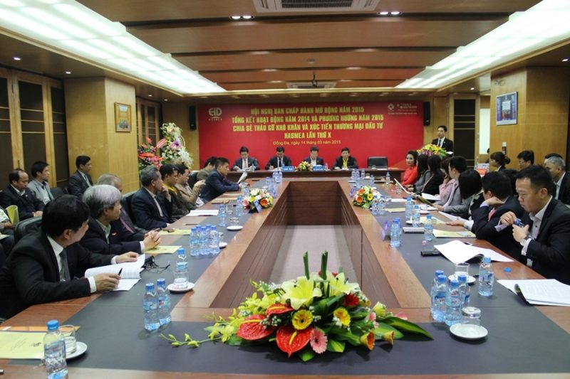 Toàn cảnh Hội nghị Ban chấp hành mở rộng năm 2015 của HASMEA