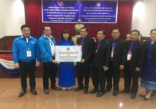 Bộ Tài nguyên và Môi trường Việt Nam trao tặng 05 máy lọc nước R.O Tân Á cho Bộ Tài nguyên và Môi trường Lào 1