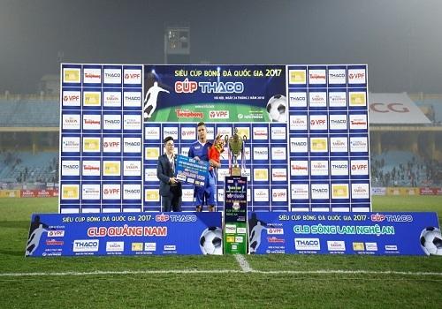 Cúp Quốc gia 2017 - Vinh danh nhà tài trợ Tân Á Đại Thành 1