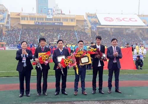 Cúp Quốc gia 2017 - Vinh danh nhà tài trợ Tân Á Đại Thành 2