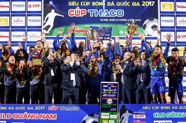 Cúp Quốc gia 2017 - Vinh danh nhà tài trợ Tân Á Đại Thành 3