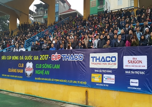 Cúp Quốc gia 2017 - Vinh danh nhà tài trợ Tân Á Đại Thành 7
