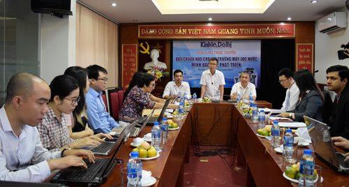 Các khách mời tham gia buổi Tọa đàm.