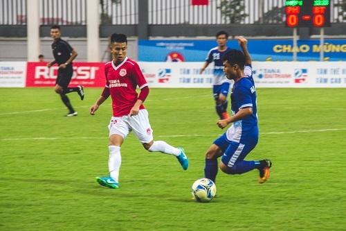 Phố Hiến dẫn đầu bảng A với 24 điểm sau trận thắng Bình Thuận 1