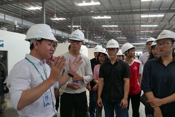 Ströman đón gần 100 Thí sinh Business Ideas đến tham quan nhà máy tại Long An 2