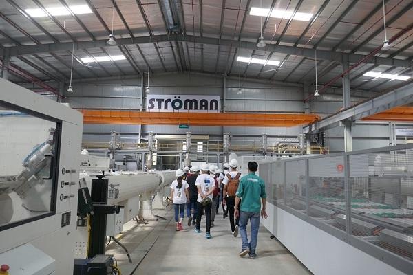 Ströman đón gần 100 Thí sinh Business Ideas đến tham quan nhà máy tại Long An 4