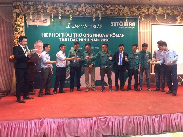 Ströman Việt Nam: Tổ chức thành công lễ tri ân thầu thợ 4