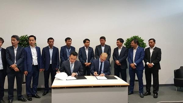 Tân Á Đại Thành ký kết thỏa thuận hợp tác với Tập đoàn Krauss Maffei (CHLB Đức) 2