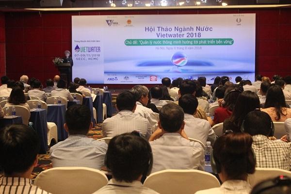 Tân Á Đại Thanh tham gia hội thảo ngành nước Vietwater 2018 1