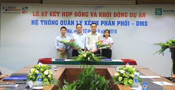 Tập đoàn Tân Á Đại Thành khởi động dự án hệ thống quảng lý kênh phân phối - DMS 2