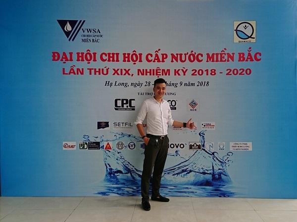 Tập đoàn Tân Á Đại Thành là nhà tài trợ vàng cho đại hội chi hội cấp thoát nước miền Bắc lần thứ XIX 2