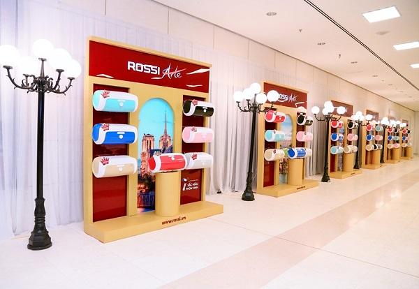 Tập đoàn Tân Á Đại Thành ra mắt nữ hoàng bình nước nóng Rossi Arte 2