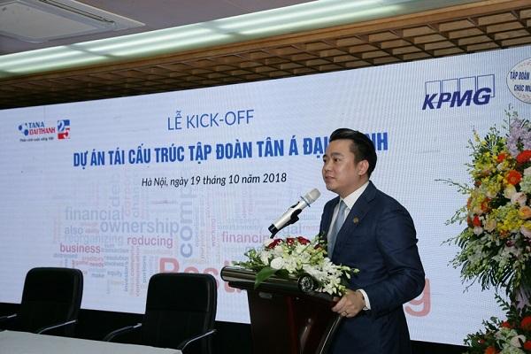 Tập đoàn Tân Á Đại Thành tổ chức Lễ khởi động dự án tái cấu trúc 1