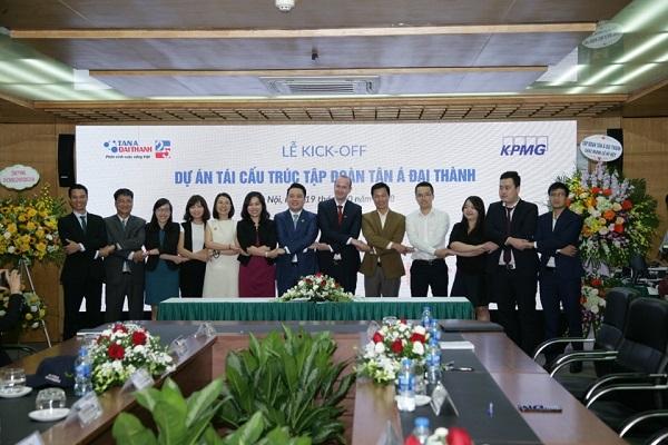 Tập đoàn Tân Á Đại Thành tổ chức Lễ khởi động dự án tái cấu trúc 2