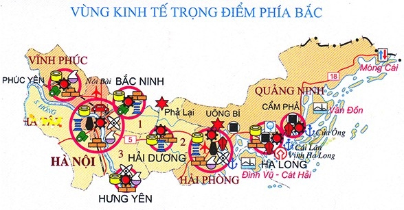 Tân Á Đại Thành đóng góp quan trọng vào sự phát triển kinh tế trọng điểm Bắc Bộ