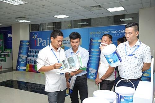 Hội thảo ra mắt sản phẩm sơn iPaint Saphir 2017 thành công rực rỡ 2