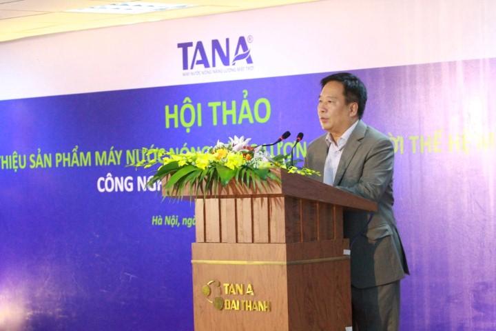 Ông Nguyễn Thái Lai – Thứ trưởng Bộ tài nguyên & môi trường phát biểu tại Hội thảo