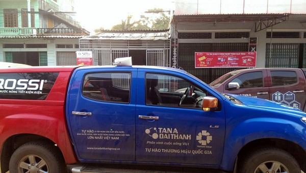 Phát thanh di động trên ô tô