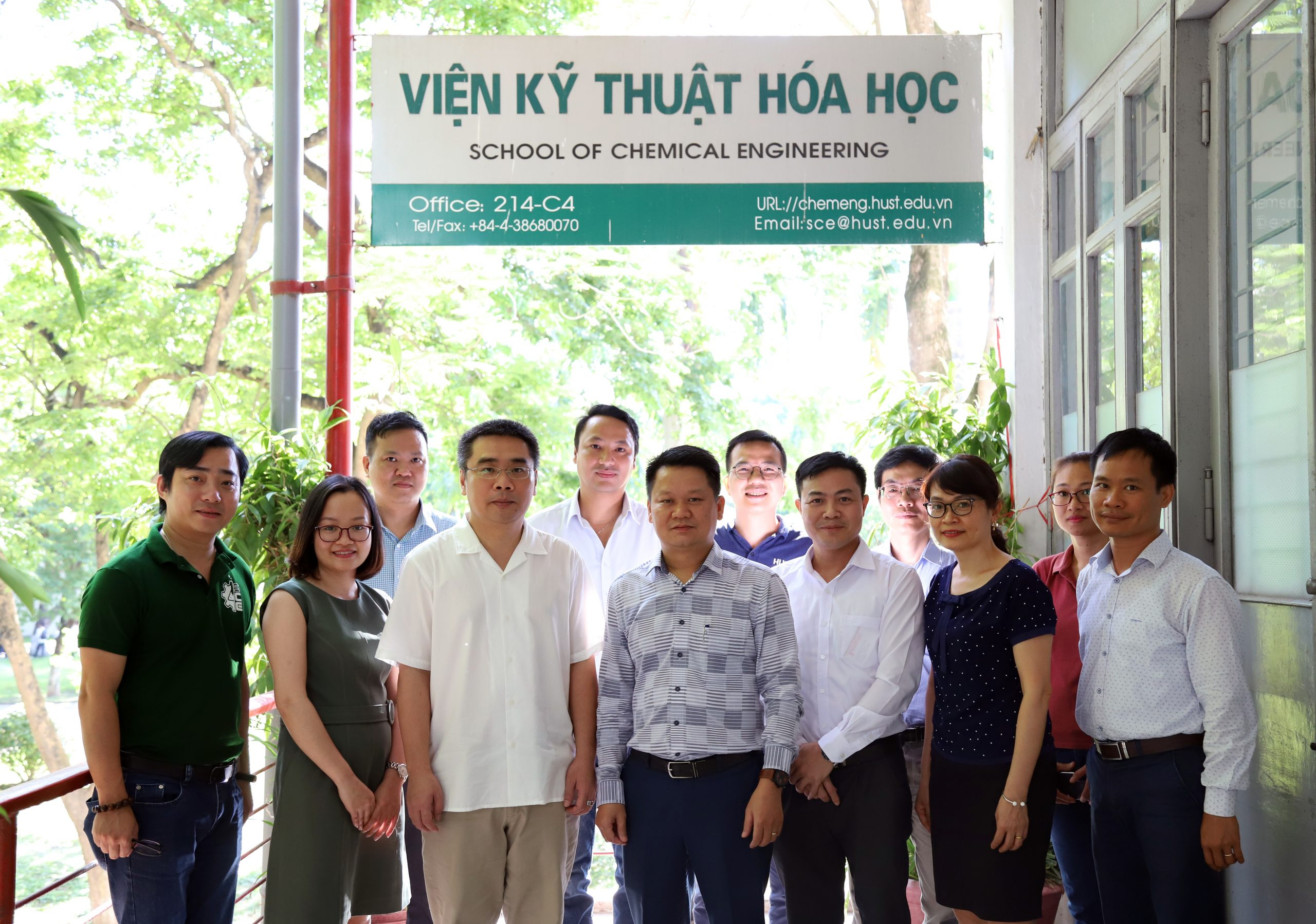 Tân Á Đại Thành ký thỏa thuận hợp tác với Viện kỹ thuật hóa học – Trường ĐH Bách Khoa Hà Nội
