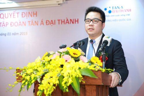 Ông Nguyễn Duy Chính phát biểu trong lễ nhận chức