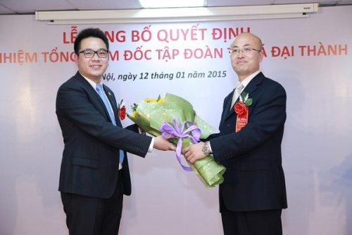 Các đối tác chúc mừng tân Tổng giám đốc Nguyễn Duy Chính
