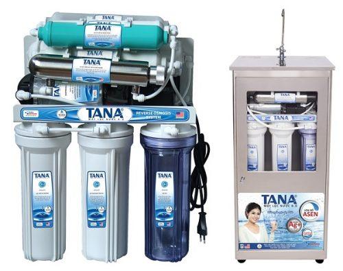 Máy lọc nước R.O Tân Á giúp loại bỏ các tạp chất, mùi và màu lạ trong nước.