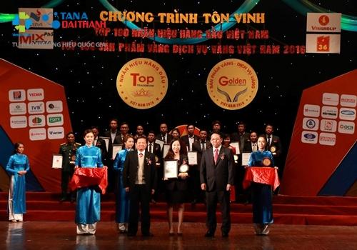 Bình nước nóng Rossi đạt Top 10 nhãn hiệu hàng đầu Việt Nam 1